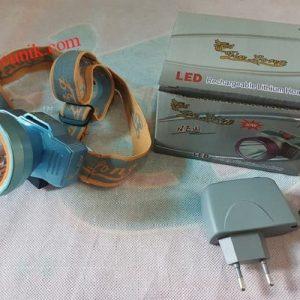 JualSenter kepala Headlamp senter LED cahaya kuning 5299 fokus senter kabut cocok untuk berburu