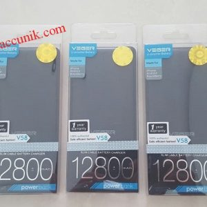 Jual murah Powerbank VEGER V58 12800mah power bank 100% Original veger