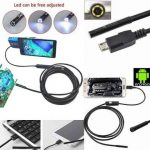 Mini Micro USB Android Endoscope kamera kabel 2 meter