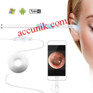 Mini Kamera Pembersih Telinga Camera Endoscope Ear Visual Cleaner