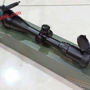 Telescope senapan angin spike 3-12×40 AOL Versi 2 lebih murah riflescope senapan