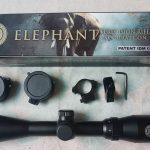 jualteropong Riflescope senapan angin elephant zoom 3-9X40 Tutup flip