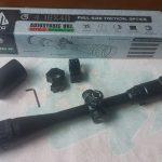 JualTeropong tele sniper senapan angin zoom UTG 4-16×40 AOL