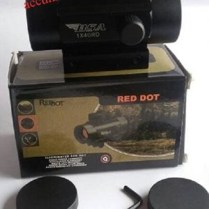 Red dot bidik senapan angin dan airsoftgun BSA 1×40 tactical