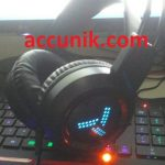 Jual murah Headset gaming headset game RGB 7.1 + mic V2000 (non wireless).