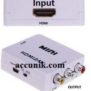 konverter HDMI ke AV/ converter HDMI to AV RCA type mini murah meriah FC