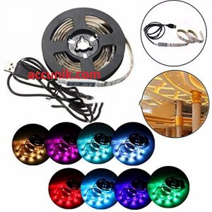 Lampu USB RGB moon Light + controler 2 meter type SMD2835