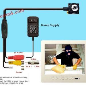 Jual Kamera pengintai CCTV kamera mini model sekrup / skrup / baut kecil