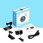 Kamera spycam wifi SQ29 infra merah tahan air, Kamera tersembunyi serbaguna multifungsi dengan batre