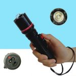 Stungun senter 105 / stun gun 305 flashlight, alat kejut listrik setrum untuk perlindungan